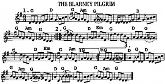 Blarney Pilgrim My Darling Asleep Morrisons: Morrison S Jig Violin Sheet Music At Alzheimers-prions.com